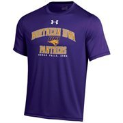Northern Iowa Panthers Under Armour School Mascot Performance T-Shirt - Purple