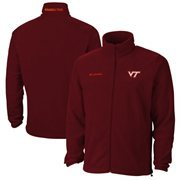 Mens Columbia Maroon Virginia Tech Hokies Flanker II Jacket