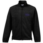 Columbia Northwestern Wildcats Flanker Full-Zip Fleece Jacket - Charcoal