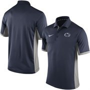 Men's Nike Navy Penn State Nittany Lions Team Issue Performance Polo