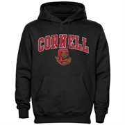 Cornell Big Red Midsize Arch Pullover Hoodie - Black