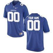 Nike Mens Kentucky Wildcats Custom Replica Football Jersey - Royal