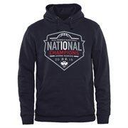 Men's Navy Blue UConn Huskies 2015 NCAA Women's Basketball National Champions Pullover Hoodie