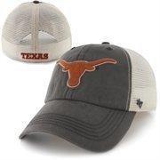 '47 Brand Texas Longhorns Caprock Canyon Flex Hat - Gray/White