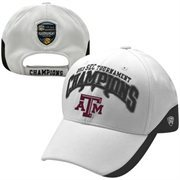Top of the World Texas A&M Aggies 2013 NCAA SEC Women's Basketball Champions Adjustable Locker Room Hat - White