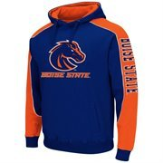 Mens Boise State Broncos Thriller II Pullover Hoodie - Royal Blue
