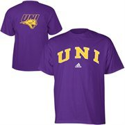 Mens adidas Purple Northern Iowa Panthers Relentless T-Shirt
