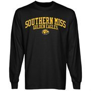 Southern Miss Golden Eagles Team Arch Long Sleeve T-Shirt - Black