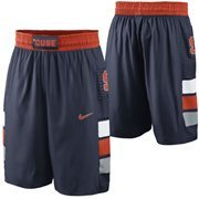Mens Syracuse Orange Nike Navy Blue Replica On-Court Basketball Shorts