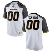 Men's Nike White Missouri Tigers Custom Game Jersey