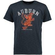 Men's '47 Brand Navy Blue Auburn Tigers Vintage Scrum T-Shirt