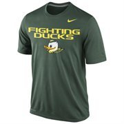 Oregon Ducks Nike Legend Local Performance T-Shirt - Green