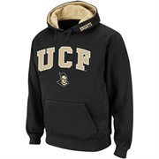 Mens UCF Knights Black Classic Arch Logo Twill Hoodie