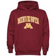 Mens Maroon Minnesota Golden Gophers Arch Over Logo Hoodie