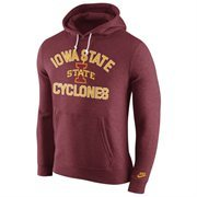 Iowa State Cyclones Nike Club Rewind Hoodie - Cardinal