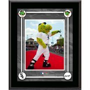 Chicago White Sox Mascot Sublimated 10.5'' x 13'' Plaque