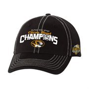 Men's Missouri Tigers Black 2015 Citrus Bowl Champions Locker Room Adjustable Hat