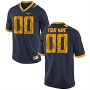 Cal Bears Nike Team Color Custom Game Jersey - Navy Blue