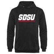 Men's San Diego State Aztecs Black Billboard Hoodie