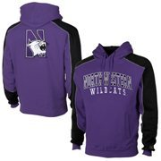 Mens Northwestern Wildcats Purple Thriller Pullover Hoodie