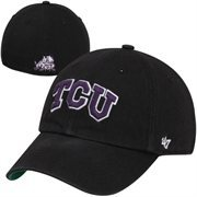 TCU Horned Frogs Franchise Fitted Hat - Black