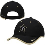 Mens Vanderbilt Commodores Nike Black 2014 Coaches Performance Adjustable Hat