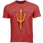 Arizona State Sun Devils Big Logo Overtime T-Shirt - Maroon