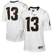 No. 13 UCF Knights Nike Game Replica Football Jersey - White