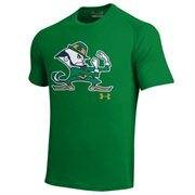 Notre Dame Fighting Irish Under Armour Localized Flare Art Tech T-Shirt - Kelly Green