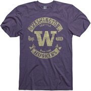 Washington Huskies Heathered Purple Rockers Ringspun T-Shirt
