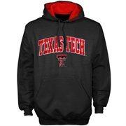 Texas Tech Red Raiders Black Classic Twill Pullover Hoodie Sweatshirt