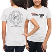 Women's White 2015 NCAA Men's Basketball Tournament 68 Team Ball T-Shirt