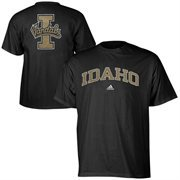 Mens adidas Black Idaho Vandals Relentless T-Shirt