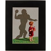 Texas A&M Aggies 11'' x 14'' Football Player Team Tots Picture