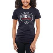 Women's Navy Blue UConn Huskies 2015 NCAA Women's Basketball National Champions Slim Fit T-Shirt