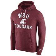 Mens Washington State Cougars Nike Crimson Club Rewind Hoodie