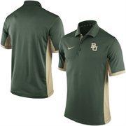 Men's Nike Green Baylor Bears Team Issue Performance Polo