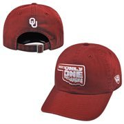 Men's Top of the World Crimson Oklahoma Sooners 2015 There's Only One Oklahoma Adjustable Hat
