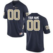 Pitt Panthers Nike Team Color Custom Game Jersey - Navy Blue