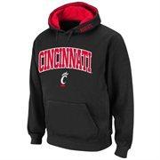 Cincinnati Bearcats Arch Logo Pullover Hoodie Sweatshirt - Black