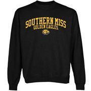 Southern Miss Golden Eagles Team Arch Sweatshirt - Black