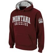 Montana Grizzlies Double Arches Hoodie - Maroon