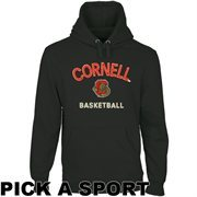 Cornell Big Red Heritage Custom Sport Pullover Hoodie - Black