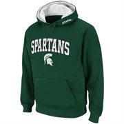 Men Michigan State Spartans Green Classic Twill II Pullover Hoodie Sweatshirt