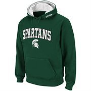 Men Michigan State Spartans Green Classic Twill II Pullover Hoodie Sweatshirt