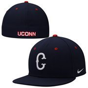 UConn Huskies Nike Dri-FIT True Colors Authentic Fitted Hat - Navy Blue