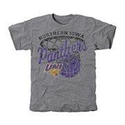 Northern Iowa Panthers Hoop Tri-Blend T-Shirt - Ash