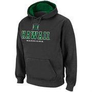 Hawaii Warriors Charcoal Sentinel Pullover Hoodie Sweatshirt