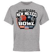 Mens UTEP Miners vs. Utah State Aggies Ash 2014 Gildan New Mexico Bowl Dueling T-Shirt