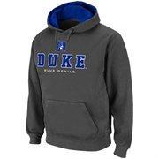 Duke Blue Devils Charcoal Classic Twill II Pullover Hoodie Sweatshirt